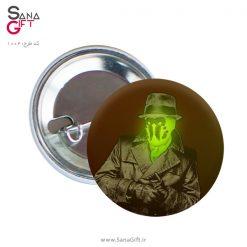 پیکسل طرح Watchmen – Rorschach
