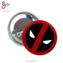 پیکسل طرح لوگو Deadpool