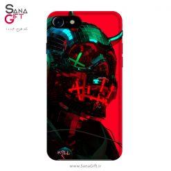 قاب موبایل طرح Neon Demon Red
