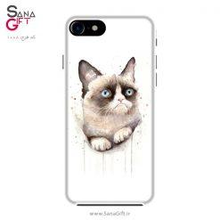قاب موبایل طرح Grumpy Cat