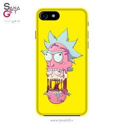 قاب موبایل طرح Rick And Morty
