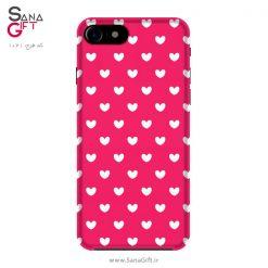 قاب موبایل طرح قلب های کوچک
