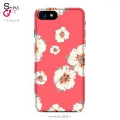 قاب موبایل طرح شکوفه های سفید