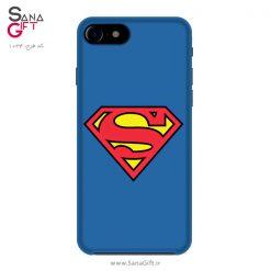 قاب موبایل طرح لوگو سوپرمن