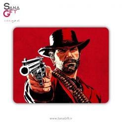 ماوس پد طرح بازی Red Dead Redemption 2 - آرتور مورگان