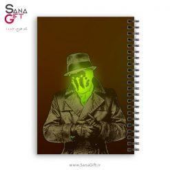 دفتر سیمی طرح Watchmen – Rorschach