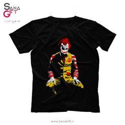 تی شرت طرح Joker McDonalds