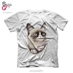 تی شرت طرح Grumpy Cat