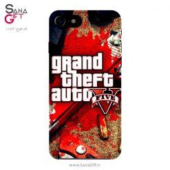 قاب موبایل طرح بازی Grand Theft Auto V