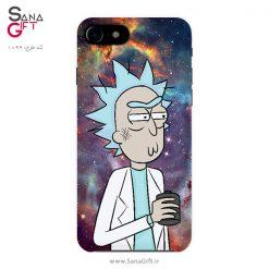 قاب موبایل طرح ریک سانچز (Rick And Morty)