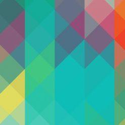 طرح پیکسل های رنگی