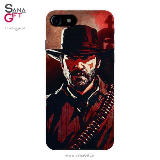 قاب موبایل طرح Arthur Morgan - Red Dead Redemption 2