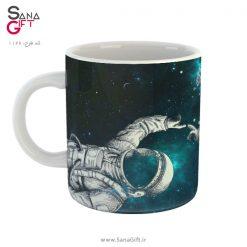 لیوان طرح فضانورد و غواص