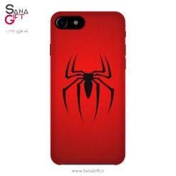 قاب موبایل طرح لوگو اسپایدرمن (مرد عنکبوتی)