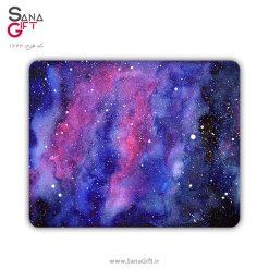 ماوس پد طرح کهکشان آبرنگ