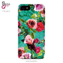قاب موبایل طرح گل گلی رز
