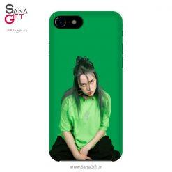 قاب موبایل طرح بیلی آیلیش سبز