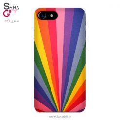 قاب موبایل طرح رنگین کمان