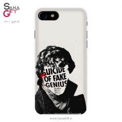 قاب موبایل طرح سریال شرلوک - Sherlock