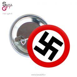 پیکسل طرح پرچم نازی