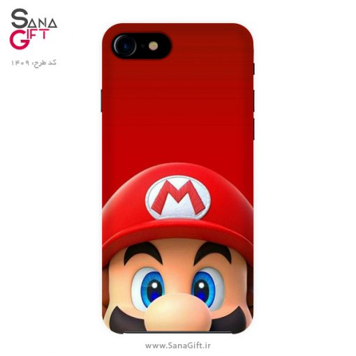 قاب موبایل طرح سوپر ماریو (قارچ خور) - Super Mario