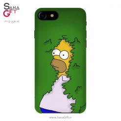 قاب موبایل طرح هومر سیمپسون - Homer Simpson Hiding