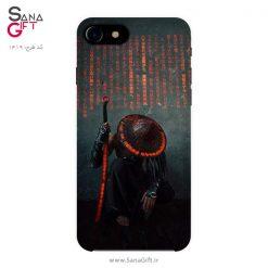 قاب موبایل طرح سامورایی - Cyber Samurai