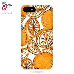 قاب موبایل طرح نقاشی پرتقال