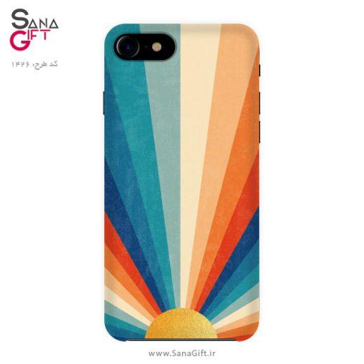 قاب موبایل طرح خورشید و رنگ ها
