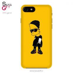 قاب موبایل طرح بارت سیمپسون - Bart Simpson