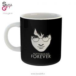 لیوان طرح هری پاتر – Potterhead Forever