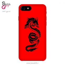 قاب موبایل طرح اژدهای سرخ